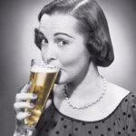 Lady beer