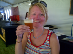 Lucy Corne with Paulaner Red Weiss #100