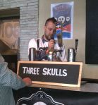 Three Skulls brewing at the Hop n Vine Fetsival